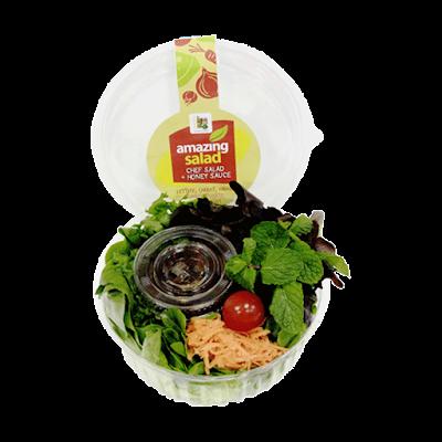 Chef Salad + Honey Sauce