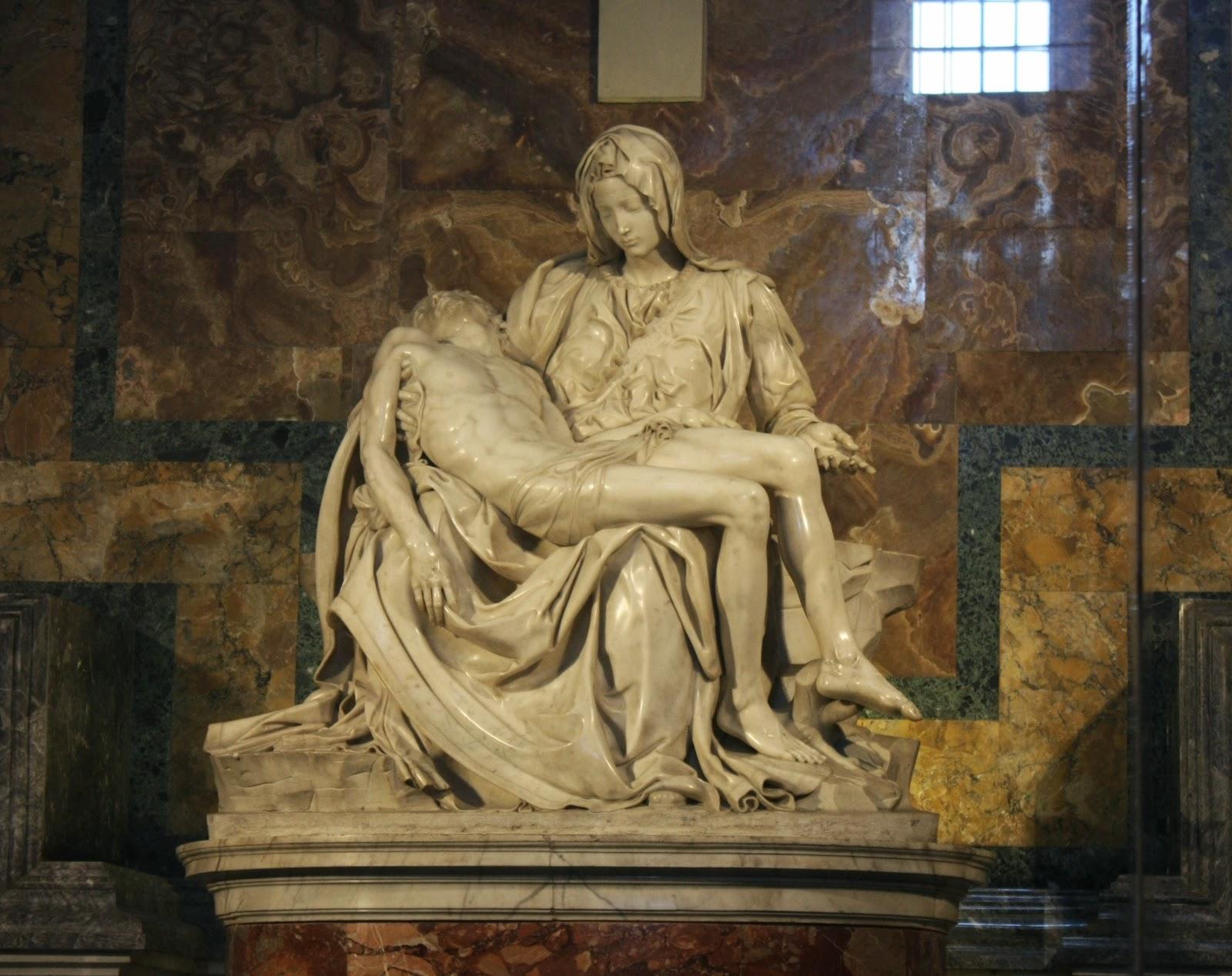 la piedad miguel angel roma