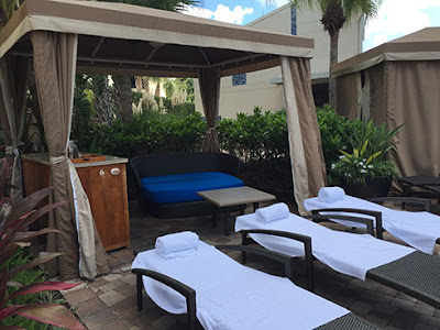 Hyatt Regency Pool Cabana
