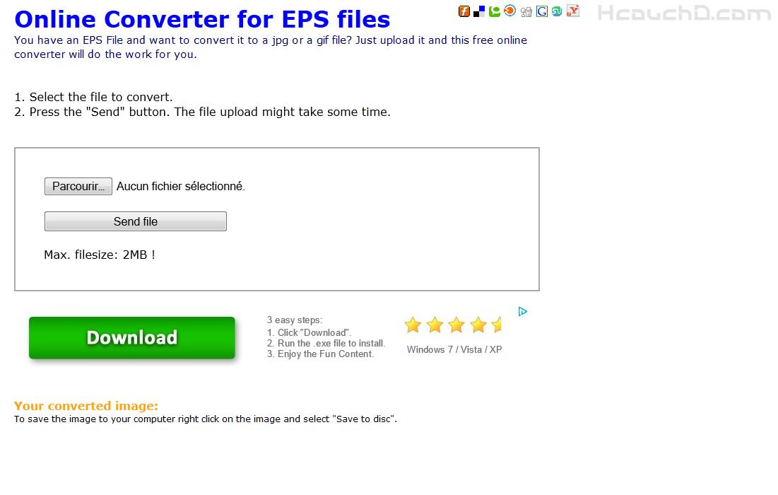 > موقع epsconverter :