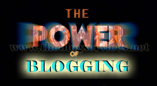 How Powerful is Blogging?