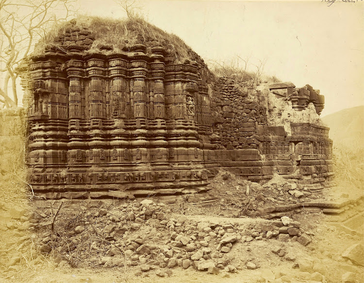 Temple of Mahadeva at Patan, Khandesh District, Maharashtra - c1885