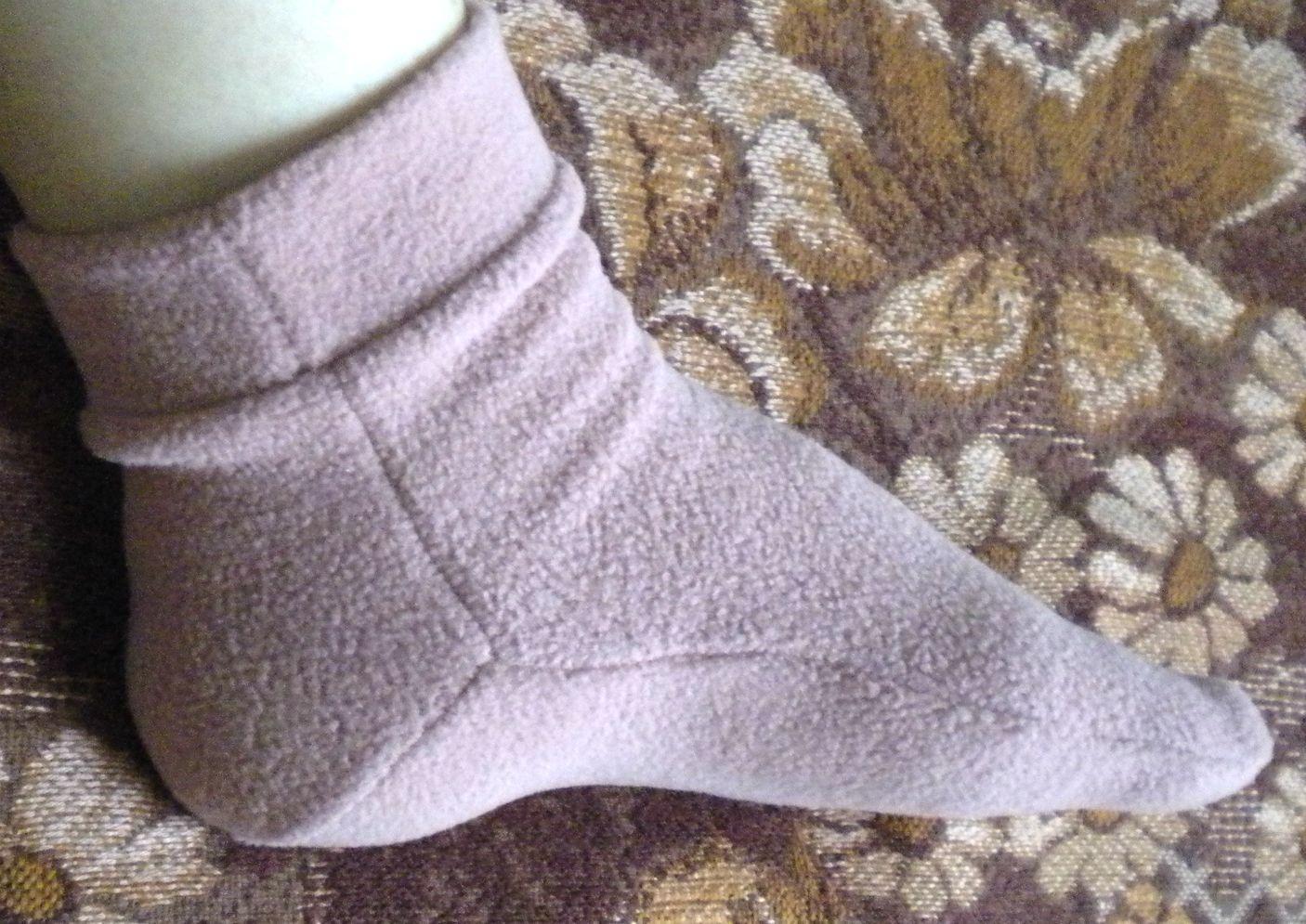 Как сшить носок в резиновый сапог