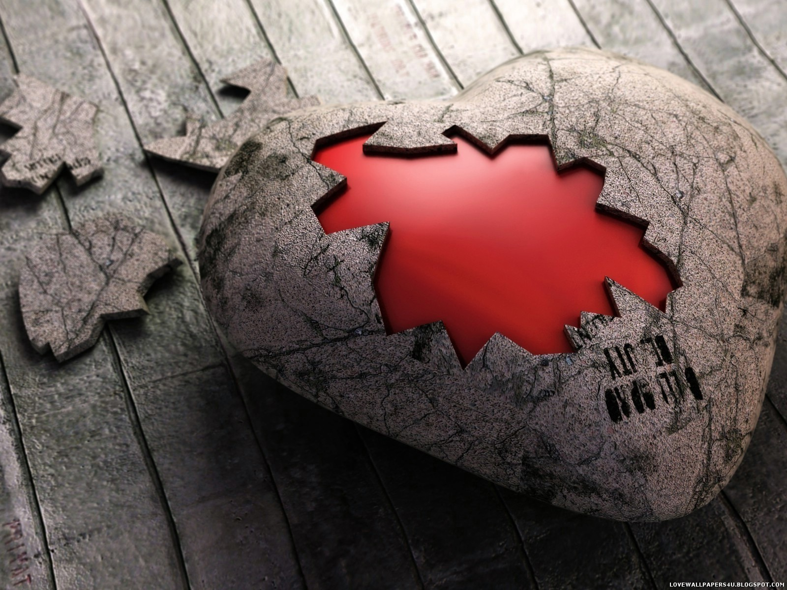 love give heart wallpapers - photo #29
