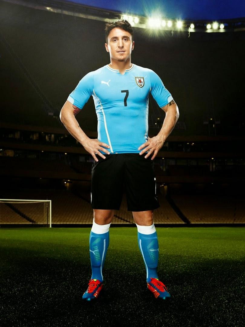 Jersey Uruguay Football 2014 World Cup