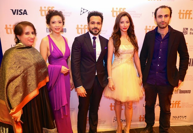 Emraan Hashmi attended the world premiere of Tigers at Toronto