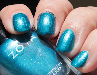 Zoya Paradise Sun Collection swatch of Oceane