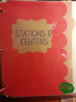 Stations & Centers Divider Page from Miss, Hey Miss!