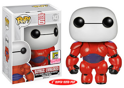 "San Diego Comic-Con 2015 Exclusive Big Hero 6 ""Unmasked"" Baymax Pop! Disney Vinyl Figure by Funko"