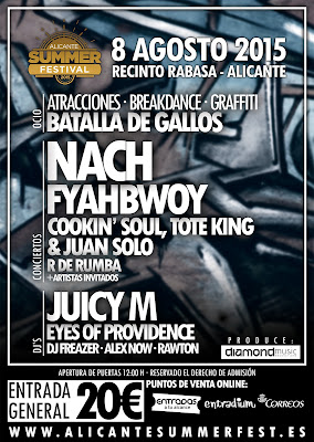 HIP HOP DAY en Alicante Summer Festival
