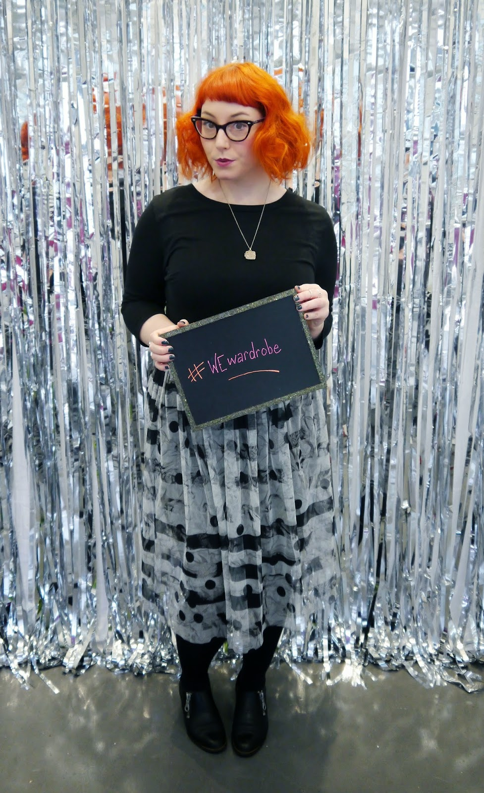 What Helen Wore, Outfit, Scottish Blogger, Wear Eponymous, The Wardrobe, Pop Up Shop, #WEwardrobe, Reg Head, ginger, photobooth, blogger photobooth