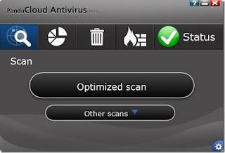 Panda Cloud Antivirus 1.9.2 Beta untuk Windows 8
