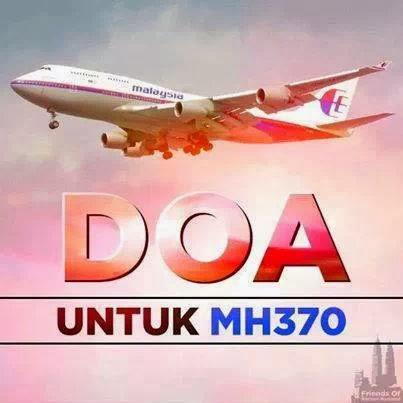 Mesej WhatsApp MH370 Ditemui Terhempas Tersebar