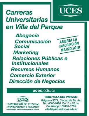 UCES - Carreras Universitarias en Villa del Parque