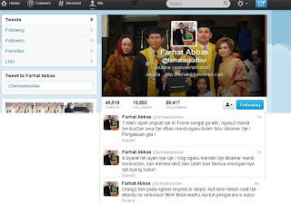 Twitter Farhat Abbas