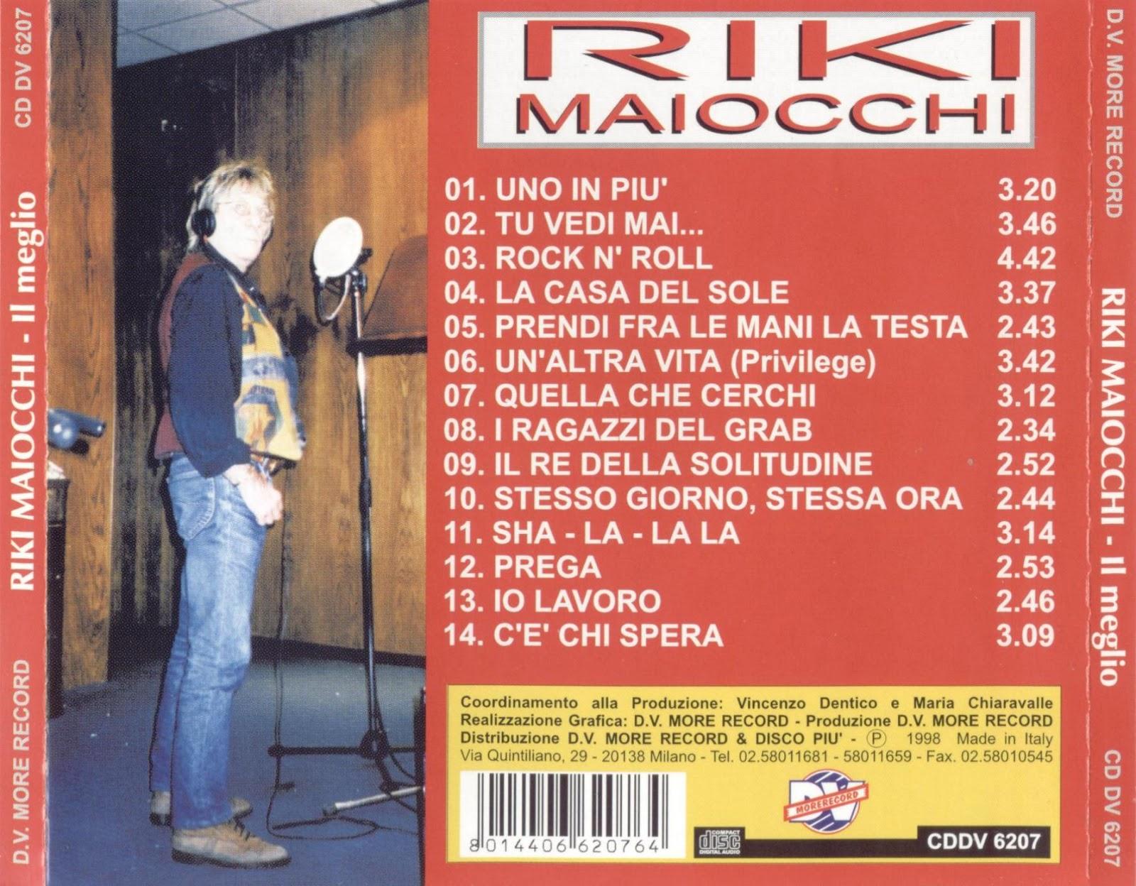 Riky Maiocchi Riki Maiocchi Quella Che Cerchi