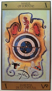 La Rueda de la Fortuna- Tarot Dalí