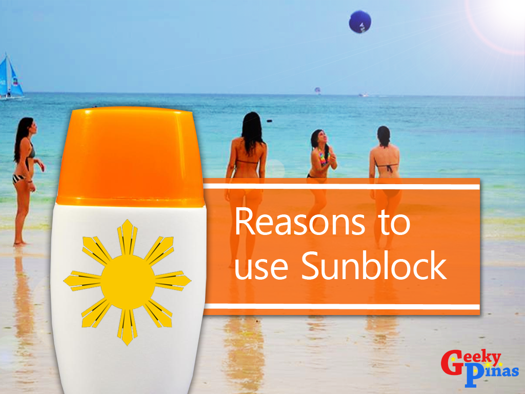 Top 5 Reasons Why You Shouldn't Skip Sunblock