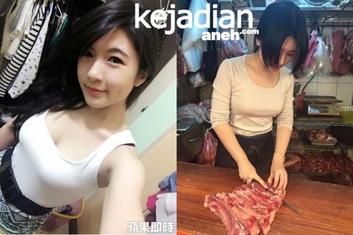 Gadis Cantik Penjual Daging
