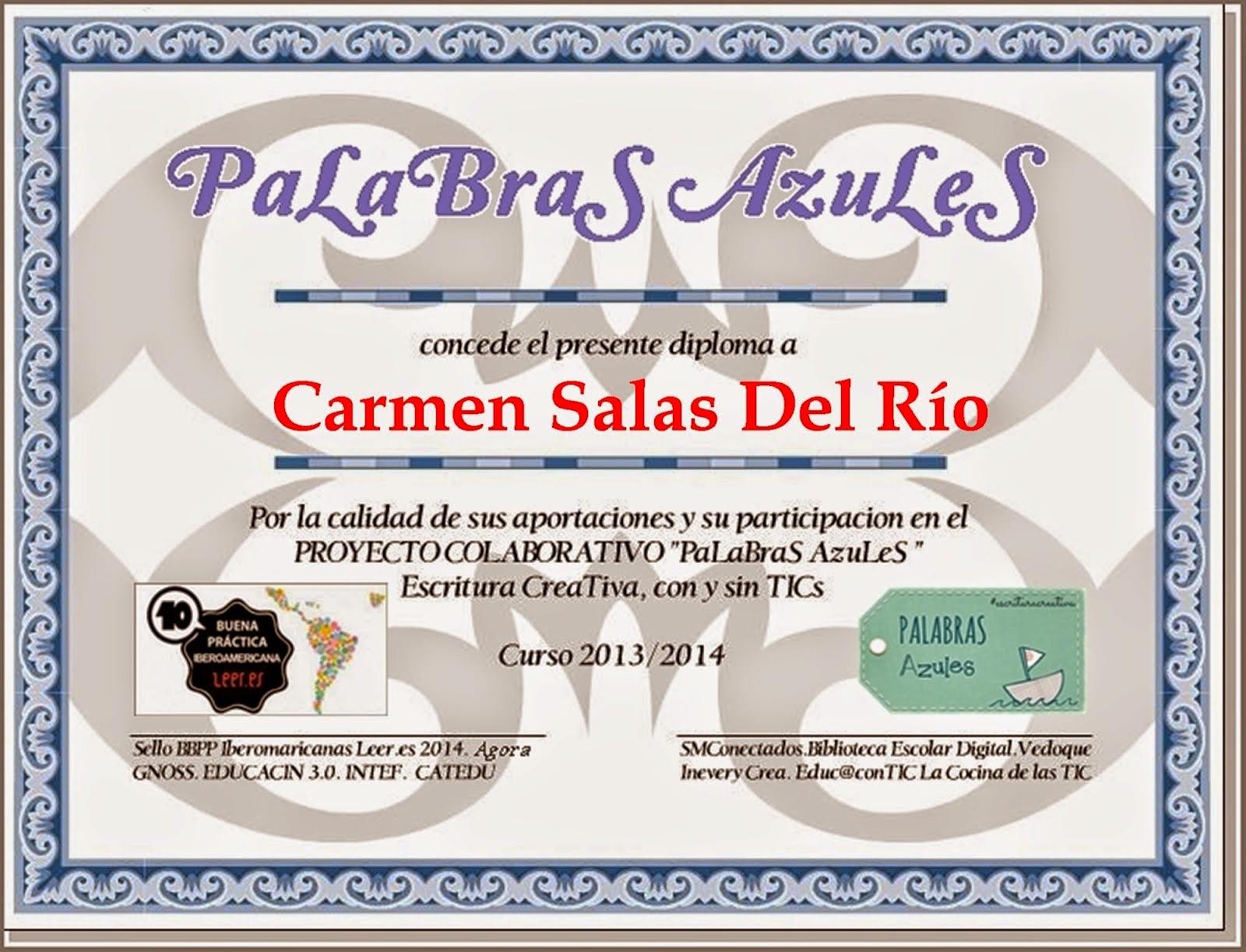 Diploma de PaLaBraS AzuLeS