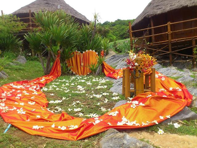 Место торжественной свадебной церемонии, остров Ко Си Чанг, Таиланд
