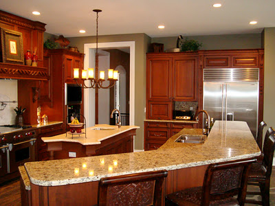 Decora el hogar decoraci n de cocinas elegantes for Cocinas elegantes