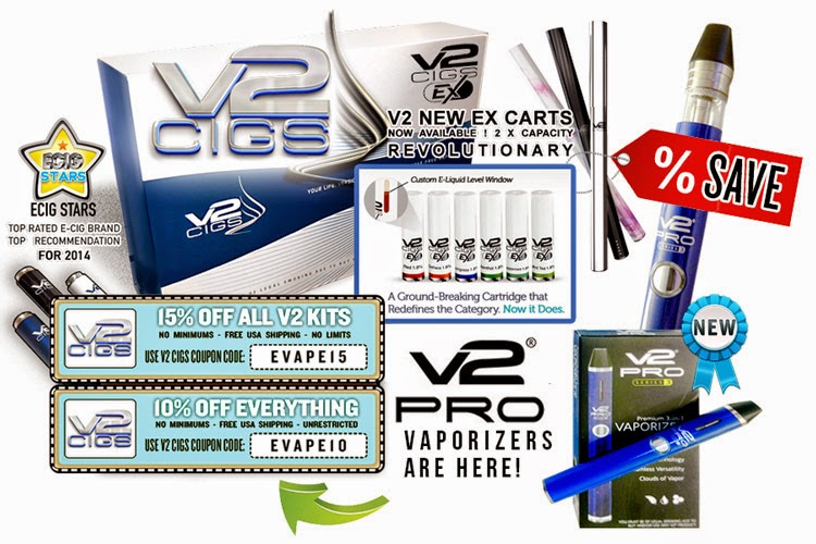 Coupon for v2 cigs