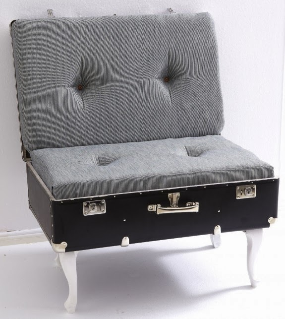 DIY Building a suitcase chair