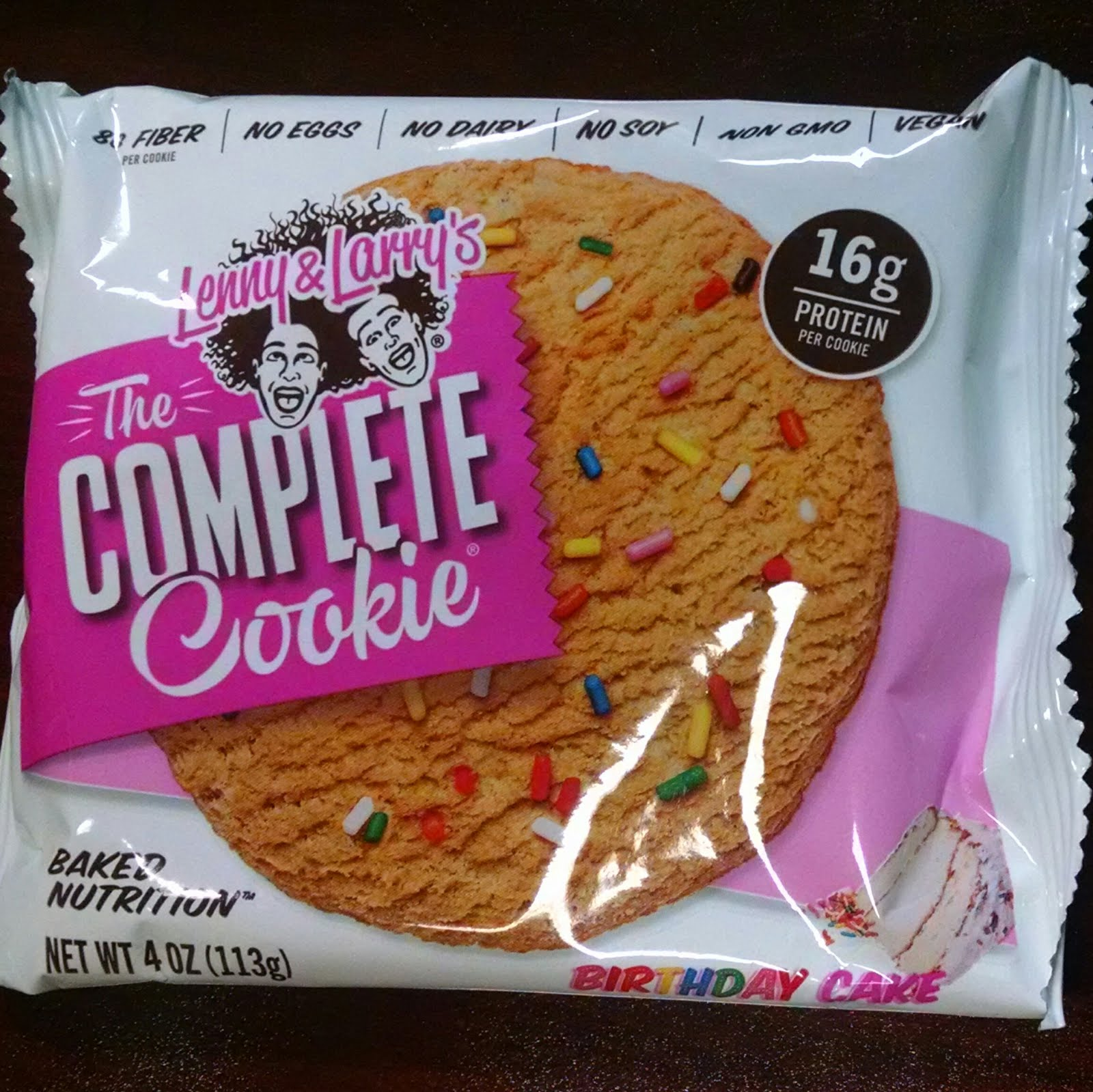 Lenny Larrys Complete Cookie Birthday Cake