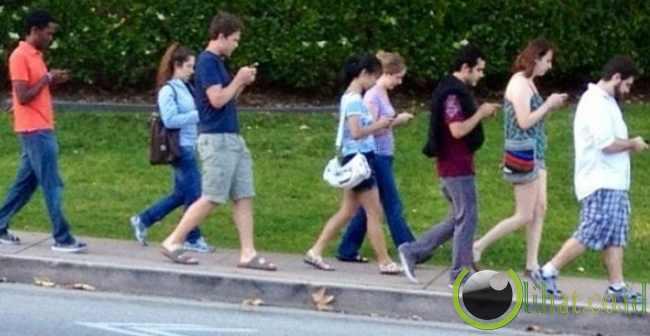 Smartphone Berbaris