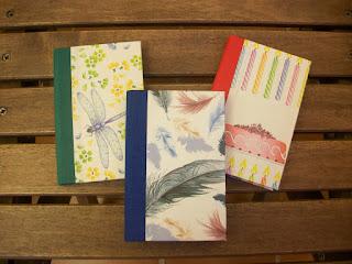 cuadernos cartonnage