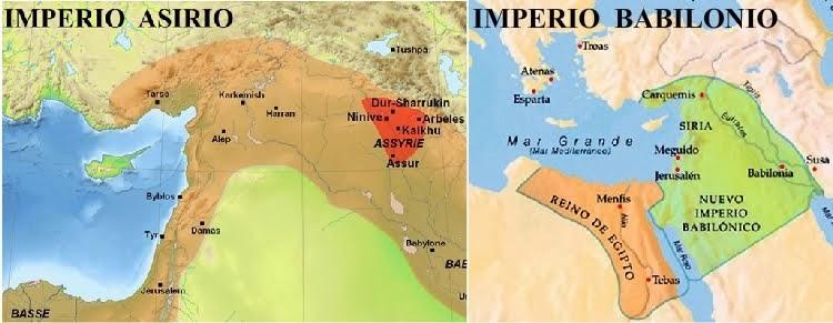 IMPERIO ASIRIO  E  IMPERIO BABILONIO
