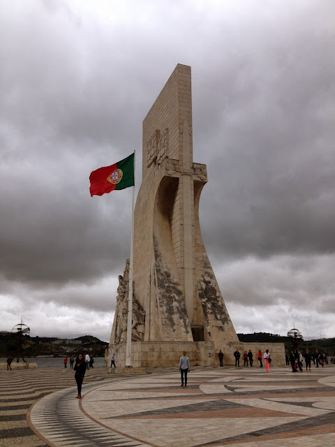Monument to the Discoveries in Belem on Semi-Charmed Kind of Life