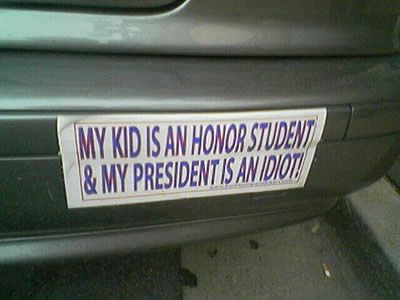 funny bumper stickers 13 Funny Pictures: Obama Bumper Stickers, Signs & Jokes