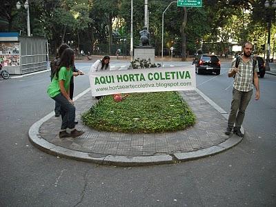 Horta e Arte Coletiva