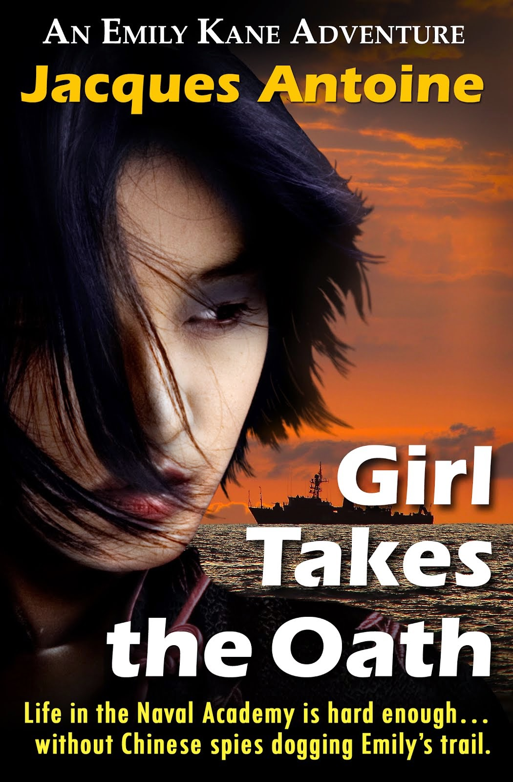 Girl Takes The Oath: Book 5 of The Emily Kane Adventures