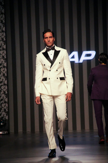 Pakistani fashion designer Ahmed Bham's menswear