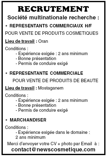 recrutement dans une soci u00e9t u00e9 multinationale avril 2013