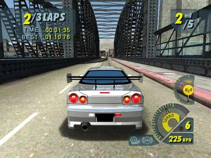 Screen Shot Of Juiced (2006) Full PC Game Free Download At Downloadingzoo.Com