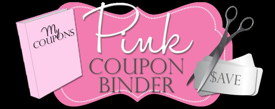 Pink Coupon Binder