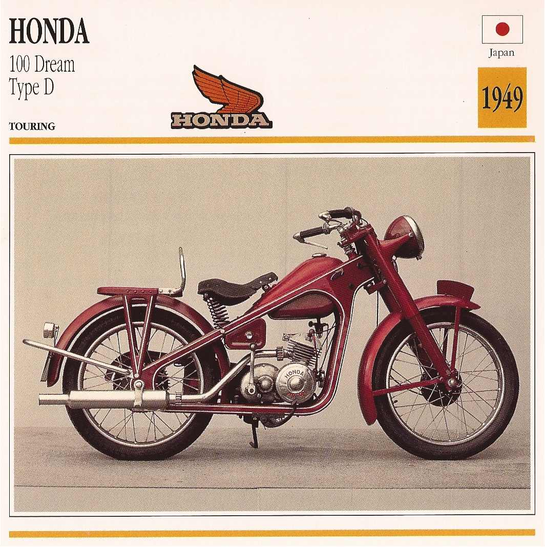Honda Dream Type D