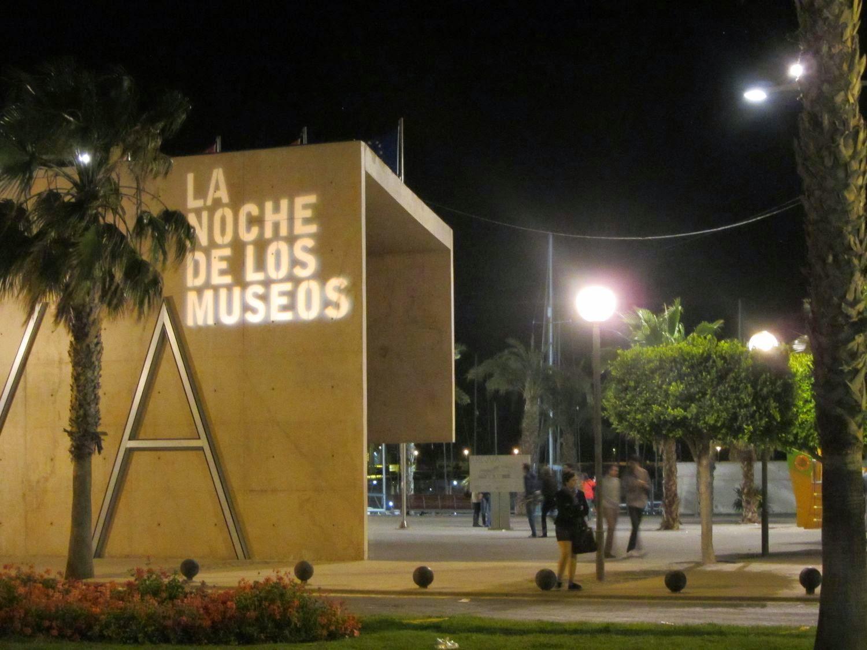 TETRIS en La noche de los museos de Cartagena