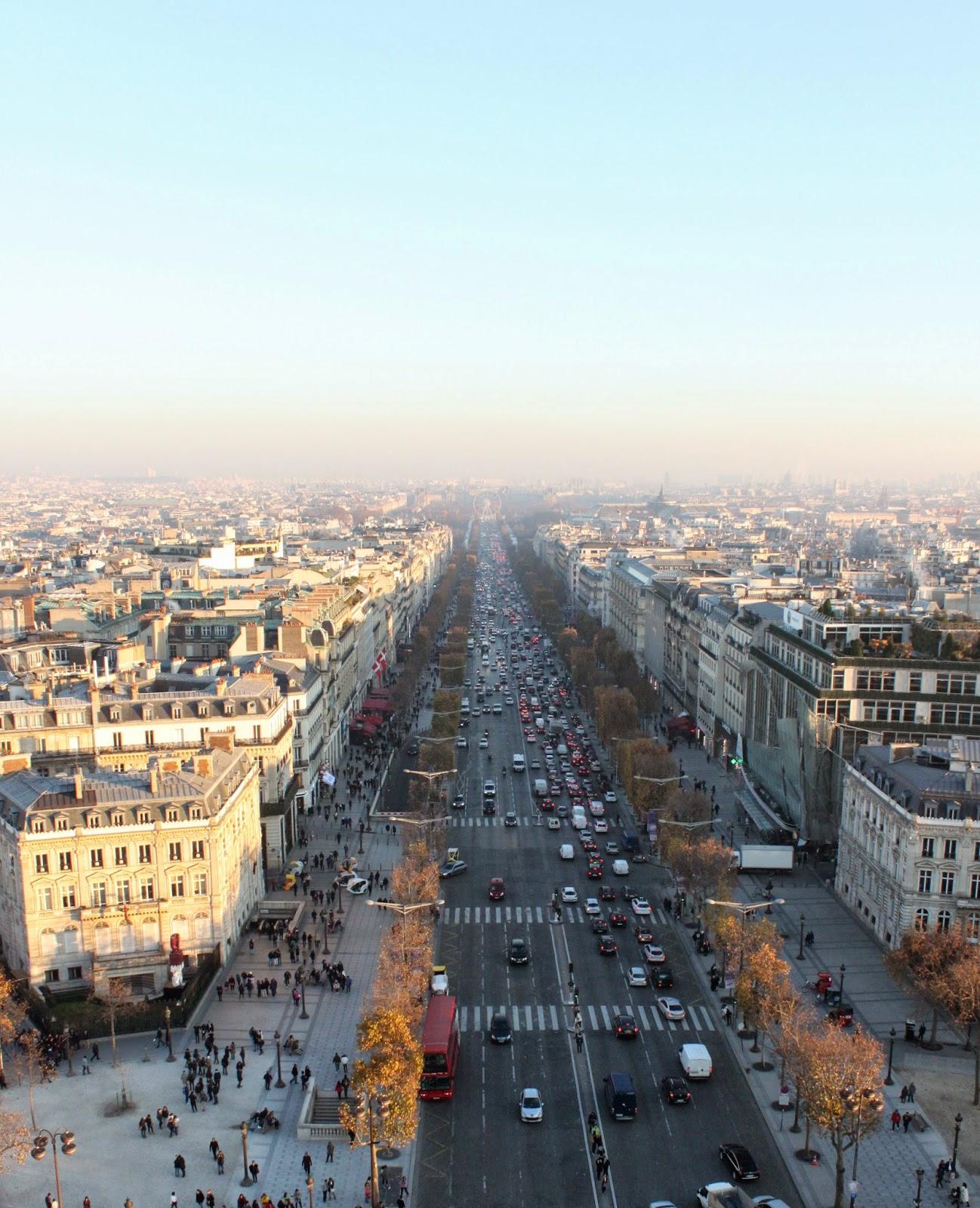 Avenida de los Campos Elíseos París