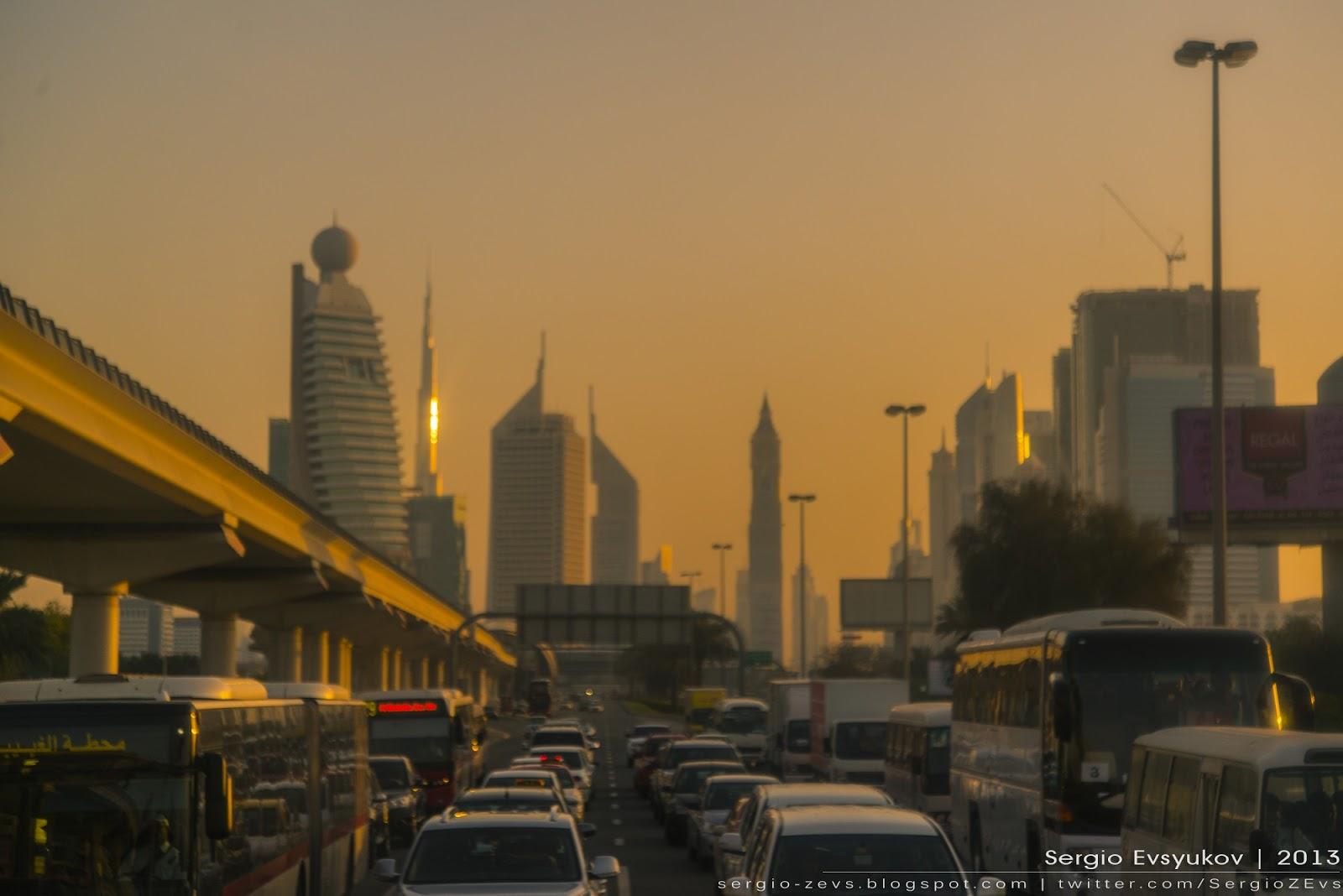 Закат в Дубае