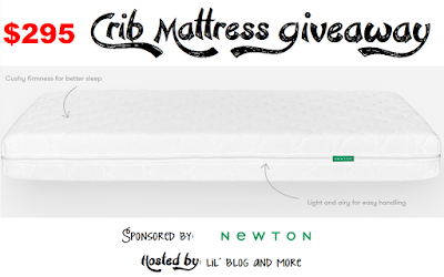 http://www.ratsandmore.com/2015/11/newton-crib-mattress-giveaway-arv-295.html