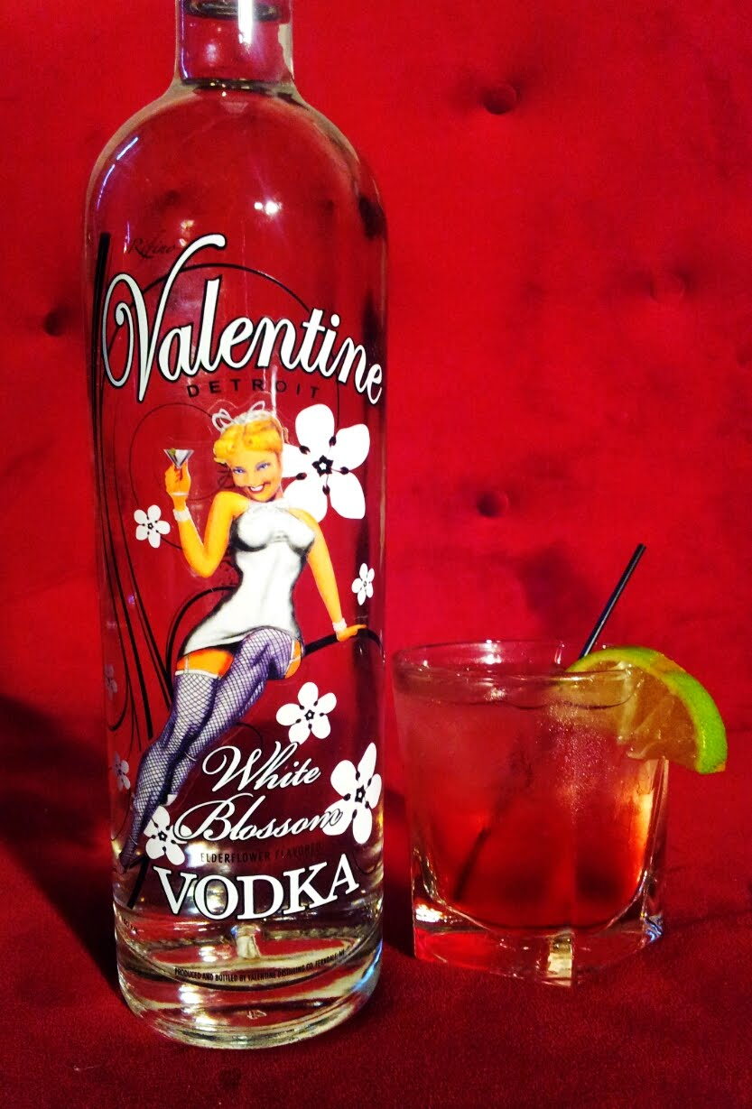 Valentine Vodka Releases White Blossom