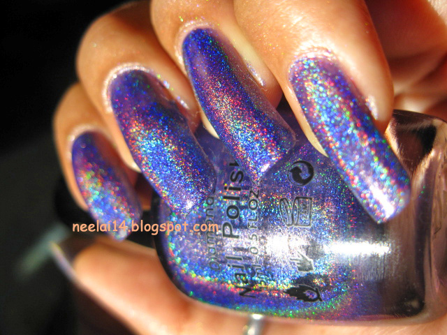 This Polish Is A Dupe For Opi Ds Glamour These Blue Purple Color Really An Eye Catcher I So Love It Ly 2 3 Coats