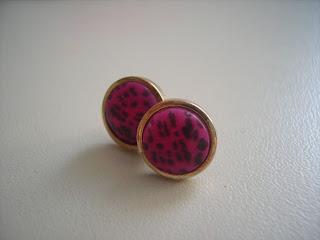 pink ohrstecker