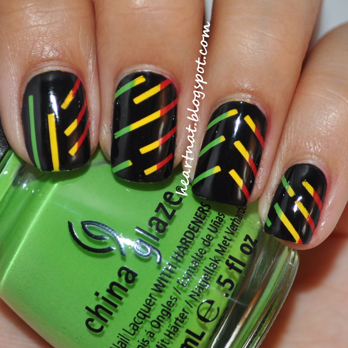 Heartnat: Rasta Stripes