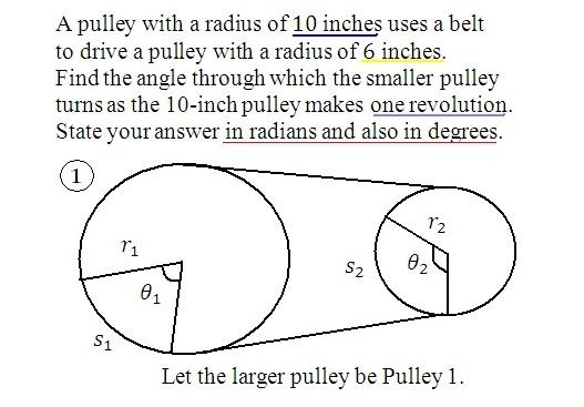 angle radian degré